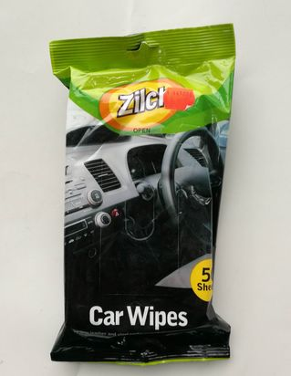 50PK CAR WIPES